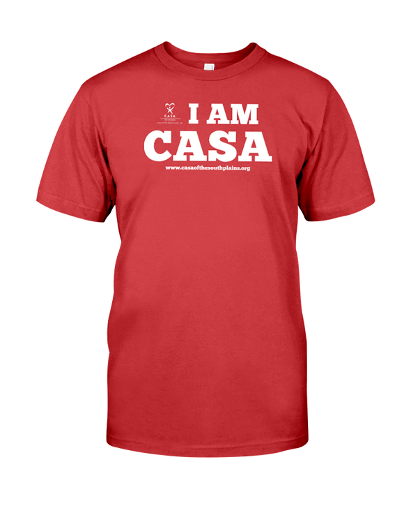 CASA OF THE SOUTH PLAINS / I AM CASA - UNISEX T - RED