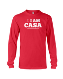 CASA OF THE PLAINS / I AM CASA - LONG SLEEVE TEE - RED OR NAVY