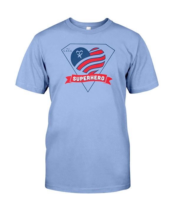 Superhero Heart Unisex T-Shirt - COLORS