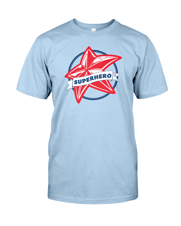 Superhero Star Unisex T-Shirt - COLORS