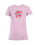 Superhero Star Ladies T-Shirt - COLORS