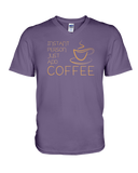 Instant Person, Just Add Coffee - V-Neck tee