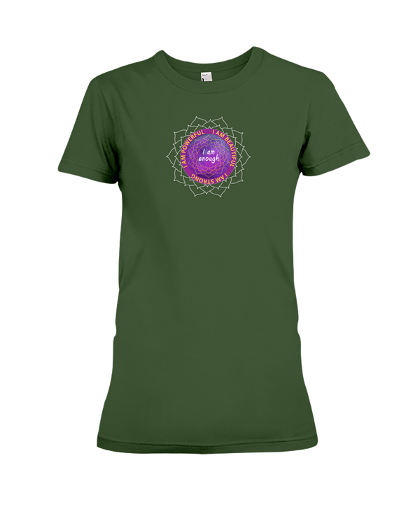 I am Enough Mandala - Ladies T-Shirt