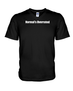 Normal's Overrated - Softstyle V-Neck T-Shirt