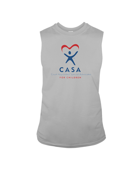 CASA Logo - Sleeveless T-shirt, Light Colors