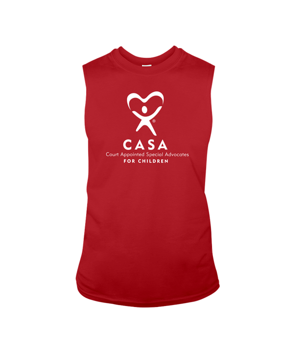 CASA Logo - Sleeveless T-Shirt, Dark Colors