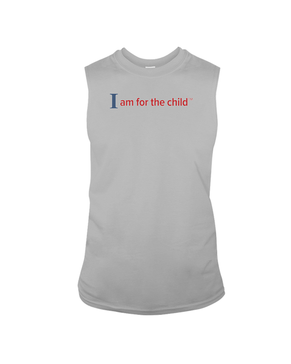 I am for the Child - Sleeveless T-Shirt, Light Colors