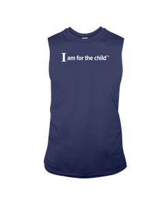 I am for the Child - Sleeveless T-Shirt, Dark Colors