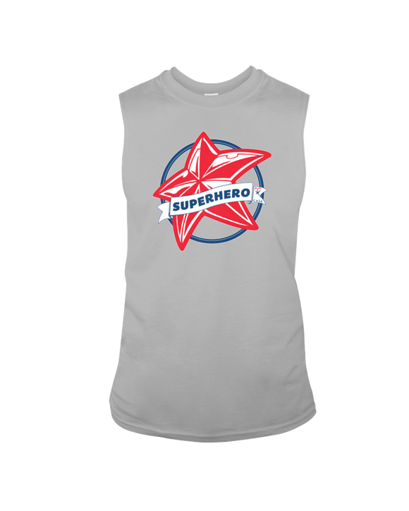 Superhero Star - Sleeveless T-Shirt