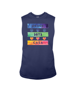 Splash Peace Love CASA - Sleeveless T-Shirt