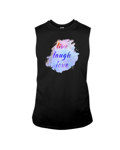 Good Ink - Live Laugh Love - Sleeveless T-Shirt