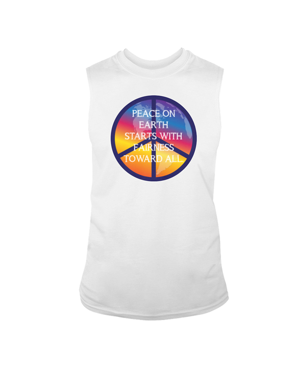 Good Ink - Peace Globe - Sleeveless T-Shirt