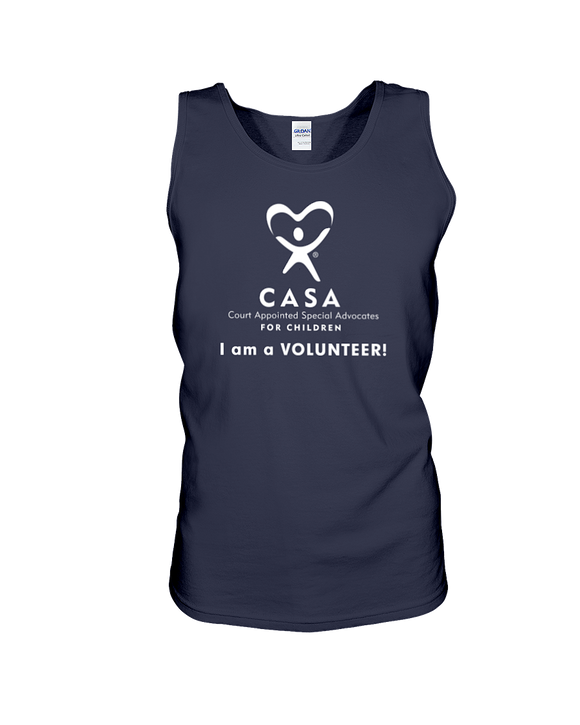 CASA Logo, I am a Volunteer, Dark Colors