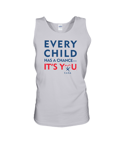 Every Child Has a Chance, It's You - Tank Top, Light Colors