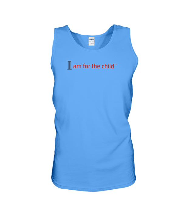 I Am for the Child - Tank Top, Light Colors