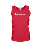 I Am for the Child - Tank Top, Dark Colors