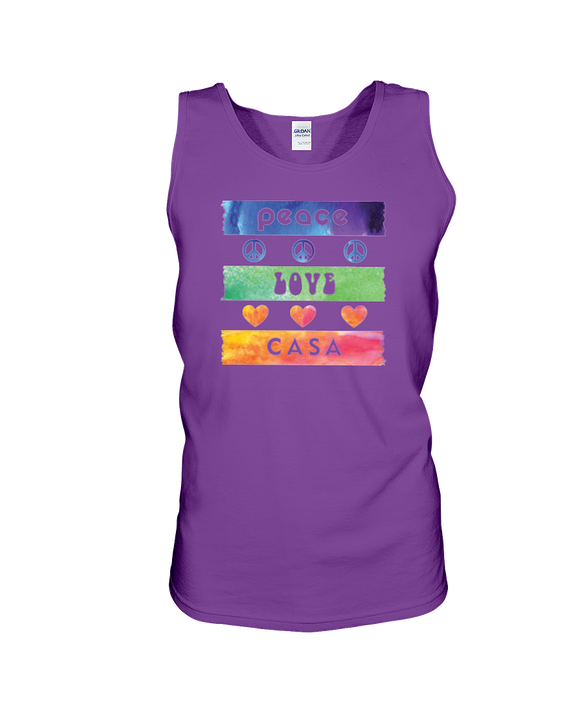 Splash Peace Love CASA, Tank Top