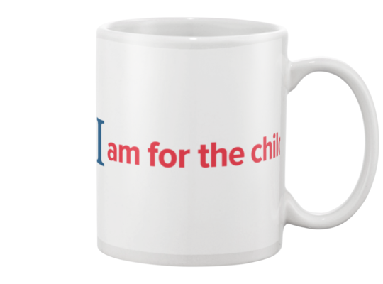 I Am for the Child Mug - White