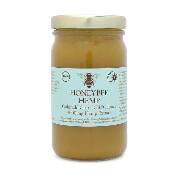 Honeybee Hemp Citrus Honey - 1000 mg