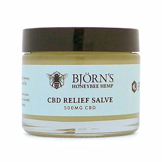 Honeybee Hemp CBD Relief Salve - 500 mg
