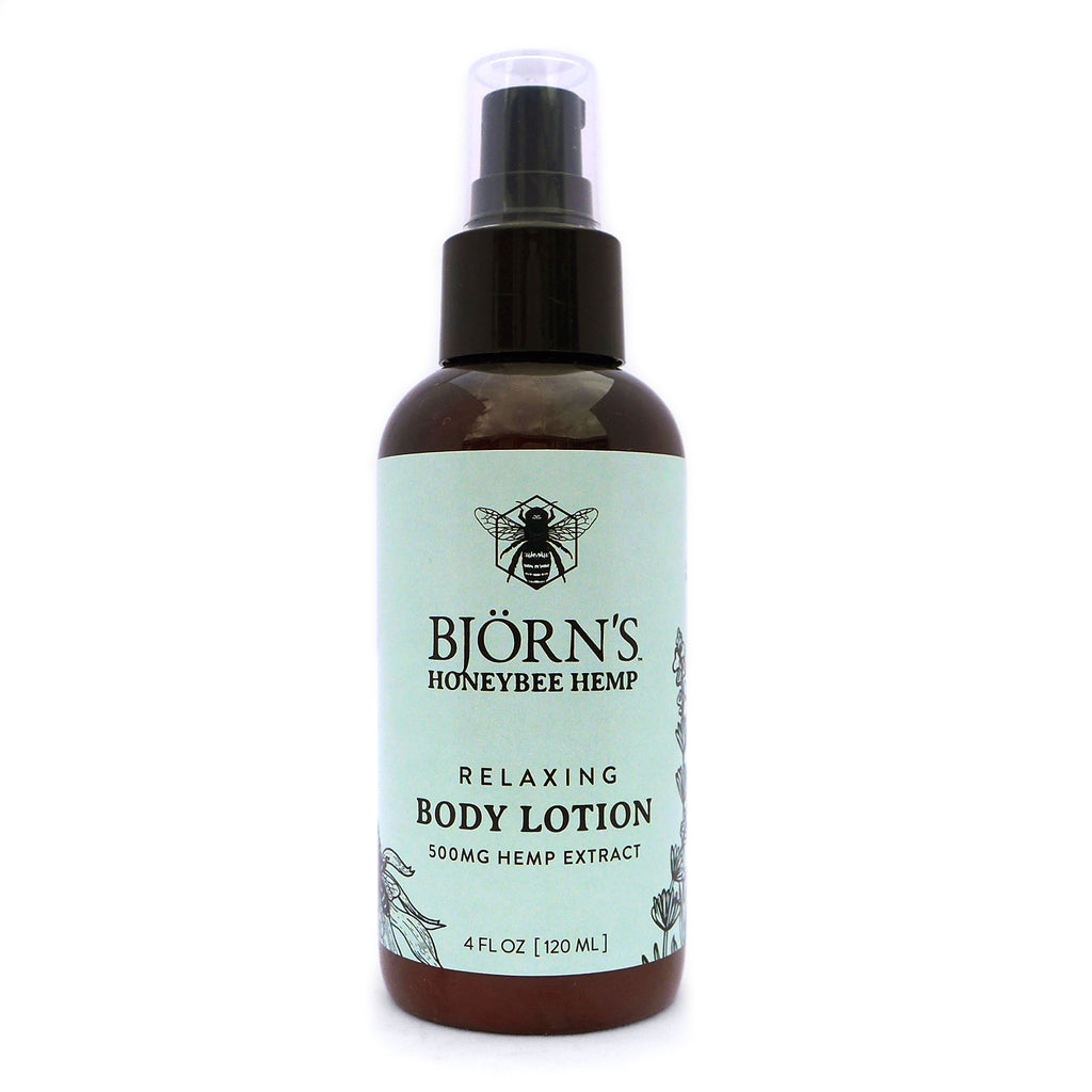 Honeybee Hemp CBD Relaxing Body Lotion - 500 mg