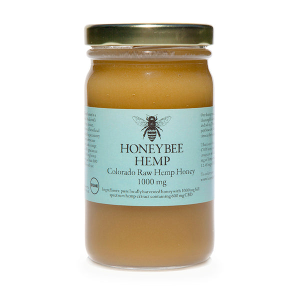 Honeybee Hemp Honey - 1000 mg