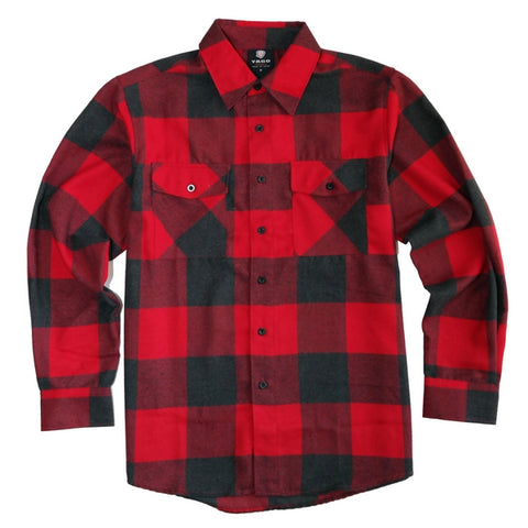 Yago Flannels - Hades Haze Men's Longsleeve Flannel Shirt, Apparel, Yago, MOONSMC // Moons Motorcycle Culture