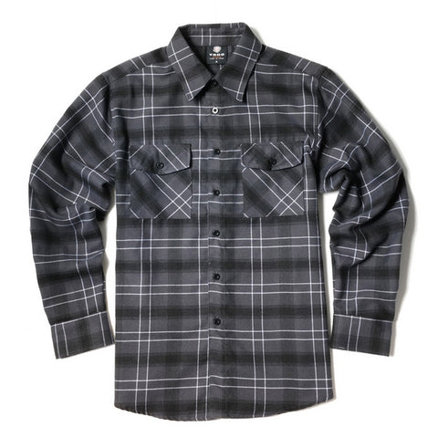 Yago Flannels - Holy Ghost Men's Longsleeve Flannel Shirt, Apparel, Yago, MOONSMC // Moons Motorcycle Culture