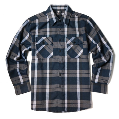 Yago Flannels - Mammoth Men's Longsleeve Flannel Shirt, Apparel, Yago, MOONSMC // Moons Motorcycle Culture