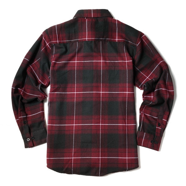 Yago Flannels - Red Dragon Men's Longsleeve Flannel Shirt, Apparel, Yago, MOONSMC // Moons Motorcycle Culture