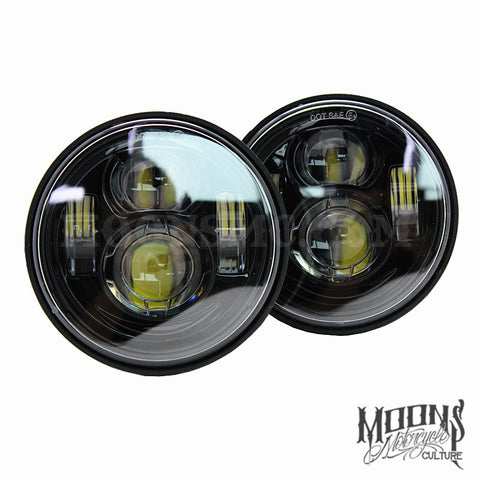 Fat Bob FXDF MOONSMC® Moonmaker Headlights, Lighting, MOONS, MOONSMC // Moons Motorcycle Culture