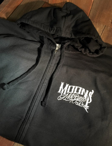 OG MOONSMC® Logo Zipup Hoodie, Apparel, MOONS, MOONSMC® // Moons Motorcycle Culture