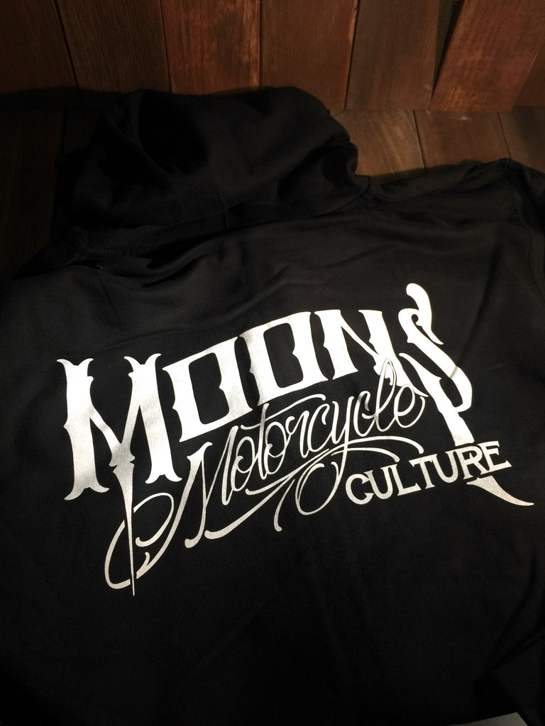 OG MOONSMC® Logo Zipup Hoodie, Apparel, MOONS, MOONSMC // Moons Motorcycle Culture