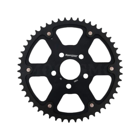 SUPERSPROX STEALTH SPROCKET BLACK FOR HD, Transmission / Driveline, Supersprox, MOONSMC® // Moons Motorcycle Culture