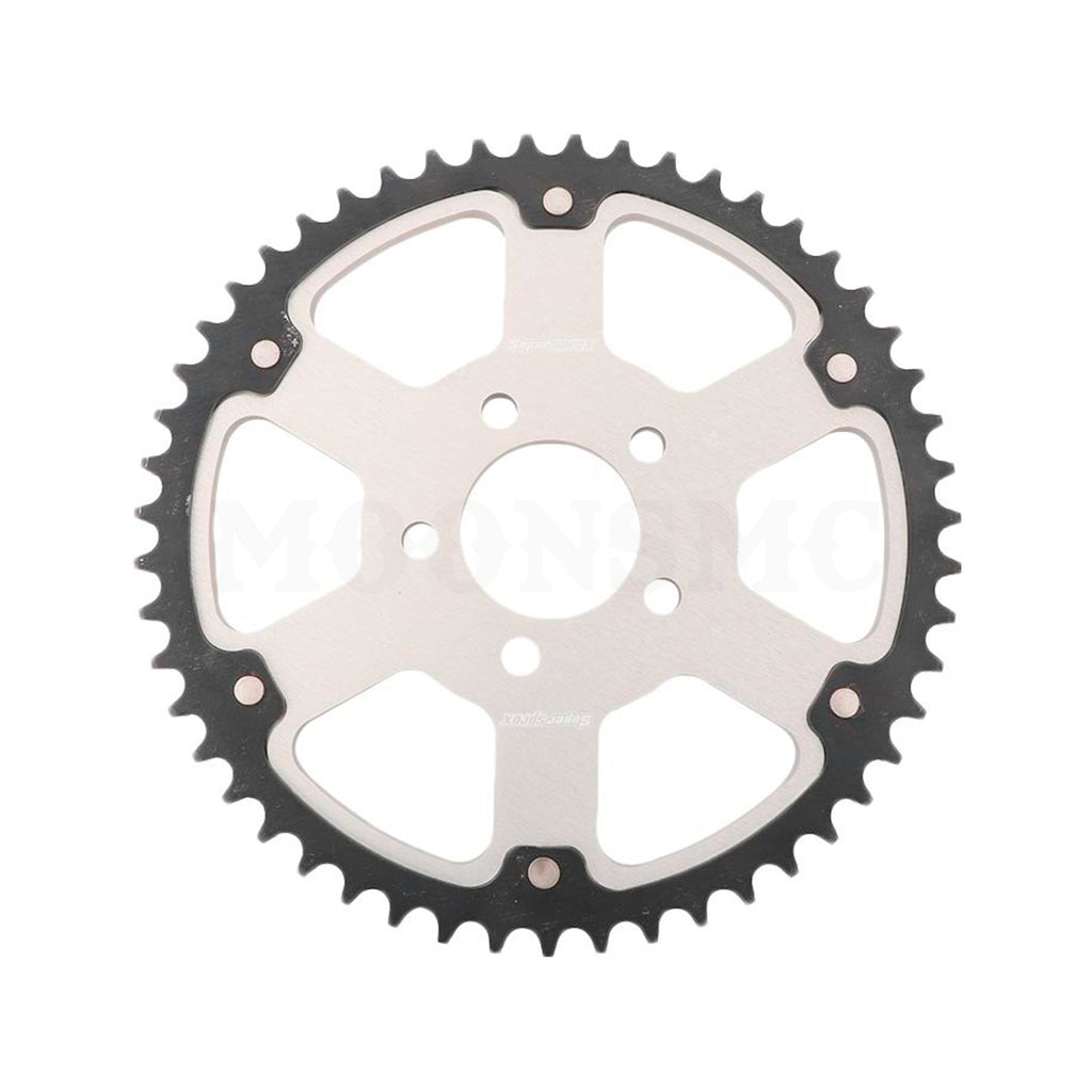 SUPERSPROX STEALTH SPROCKET SILVER FOR HD