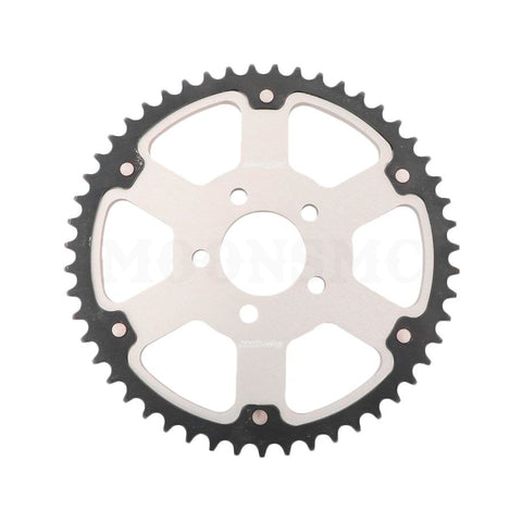 SUPERSPROX STEALTH SPROCKET SILVER FOR HD, Transmission / Driveline, Supersprox, MOONSMC // Moons Motorcycle Culture