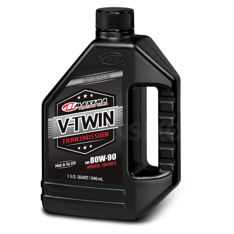 Maxima V-Twin Transmission Oil 80w90, Engine, Maxima, MOONSMC // Moons Motorcycle Culture