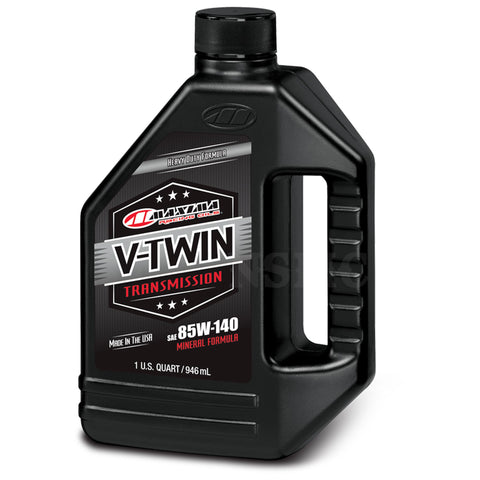 Maxima V-Twin Transmission Oil 85w140, Engine, Maxima, MOONSMC // Moons Motorcycle Culture