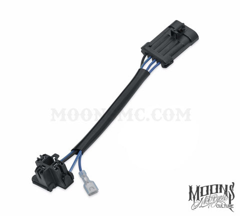 MOONSMC™ LED Headlamp Wiring Harness Adaptor Part #69200897, Lighting, MOONS, MOONSMC // Moons Motorcycle Culture