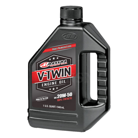 Maxima V-Twin Full Synthetic Engine Oil 20w50, Engine, Maxima, MOONSMC® // Moons Motorcycle Culture