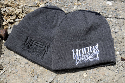 MOONSMC® OG Logo Beanie, Apparel, MOONS, MOONSMC // Moons Motorcycle Culture