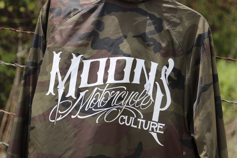 MOONSMC® OG Logo Camo Windbreaker, Apparel, MOONS, MOONSMC // Moons Motorcycle Culture
