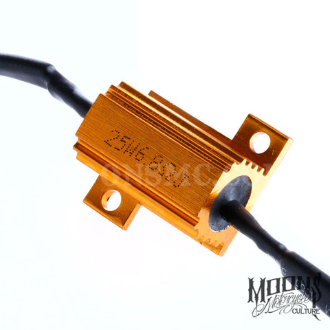 MOONSMC® High Power LED Load Resistors 25W, Lighting, MOONS, MOONSMC® // Moons Motorcycle Culture