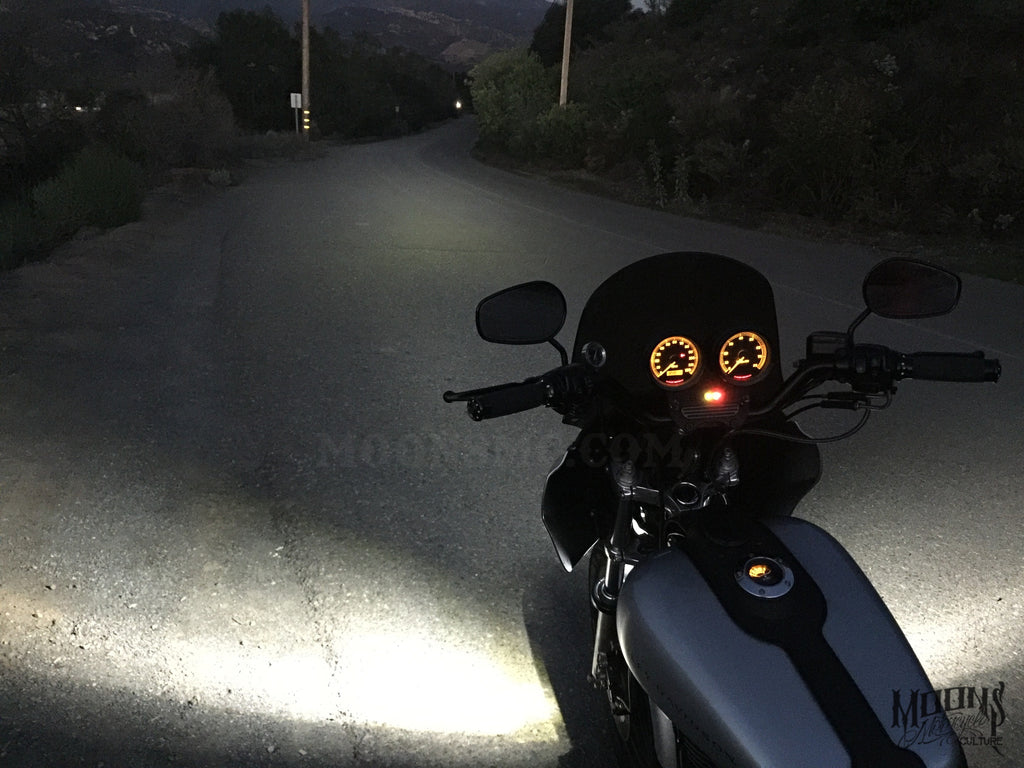 MOONSMC® Motorcycle 4500 Lumen LED Headlight Bulb, Lighting, MOONS, MOONSMC // Moons Motorcycle Culture
