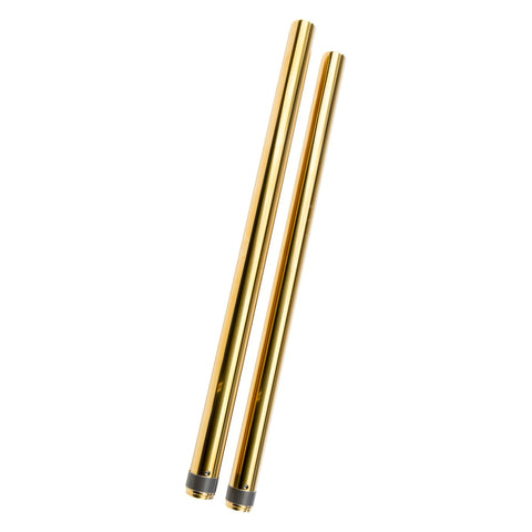 MOONSMC® 49mm Gold Fork Tubes, Suspension, MOONS, MOONSMC // Moons Motorcycle Culture