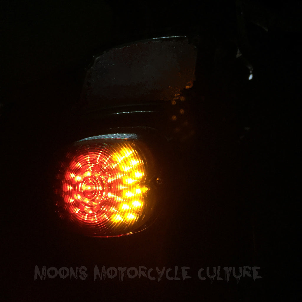 MOONSMC® Low Profile LED Tail light V1, Lighting, MOONS, MOONSMC® // Moons Motorcycle Culture
