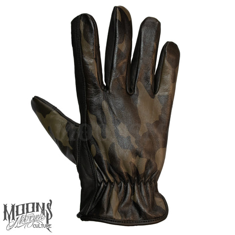 MOONSMC® Dark Camo Gloves, Gloves, MOONS, MOONSMC® // Moons Motorcycle Culture