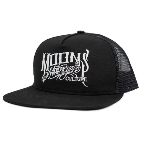 MOONSMC® OG Logo Black / White Snapback Hat
