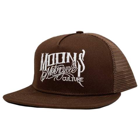 MOONSMC® OG Logo Brown / White Snapback Hat