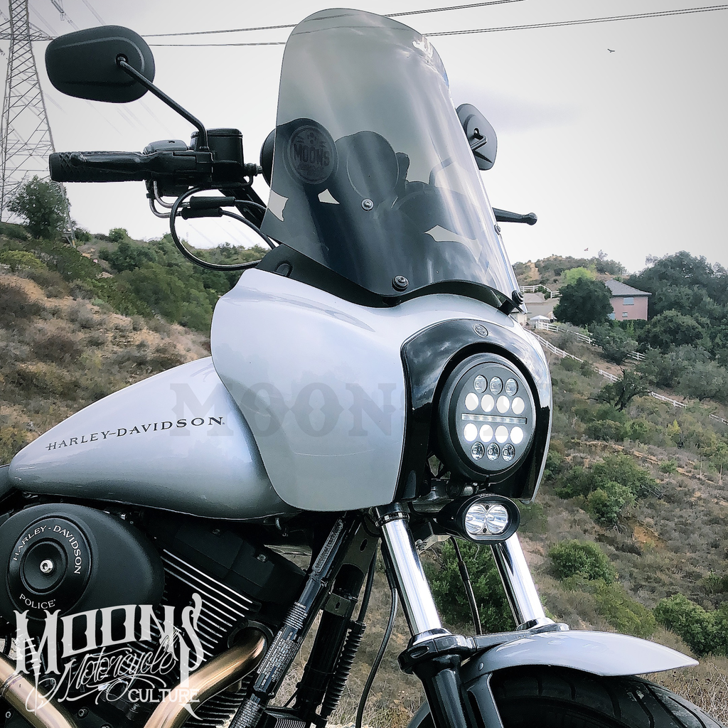 MOONSMC® Dual Beam LED Light Bar, Lighting, MOONS, MOONSMC® // Moons Motorcycle Culture